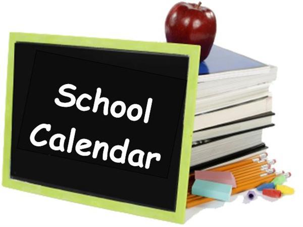 2018-2019 School Calendar Revised 09/19/18